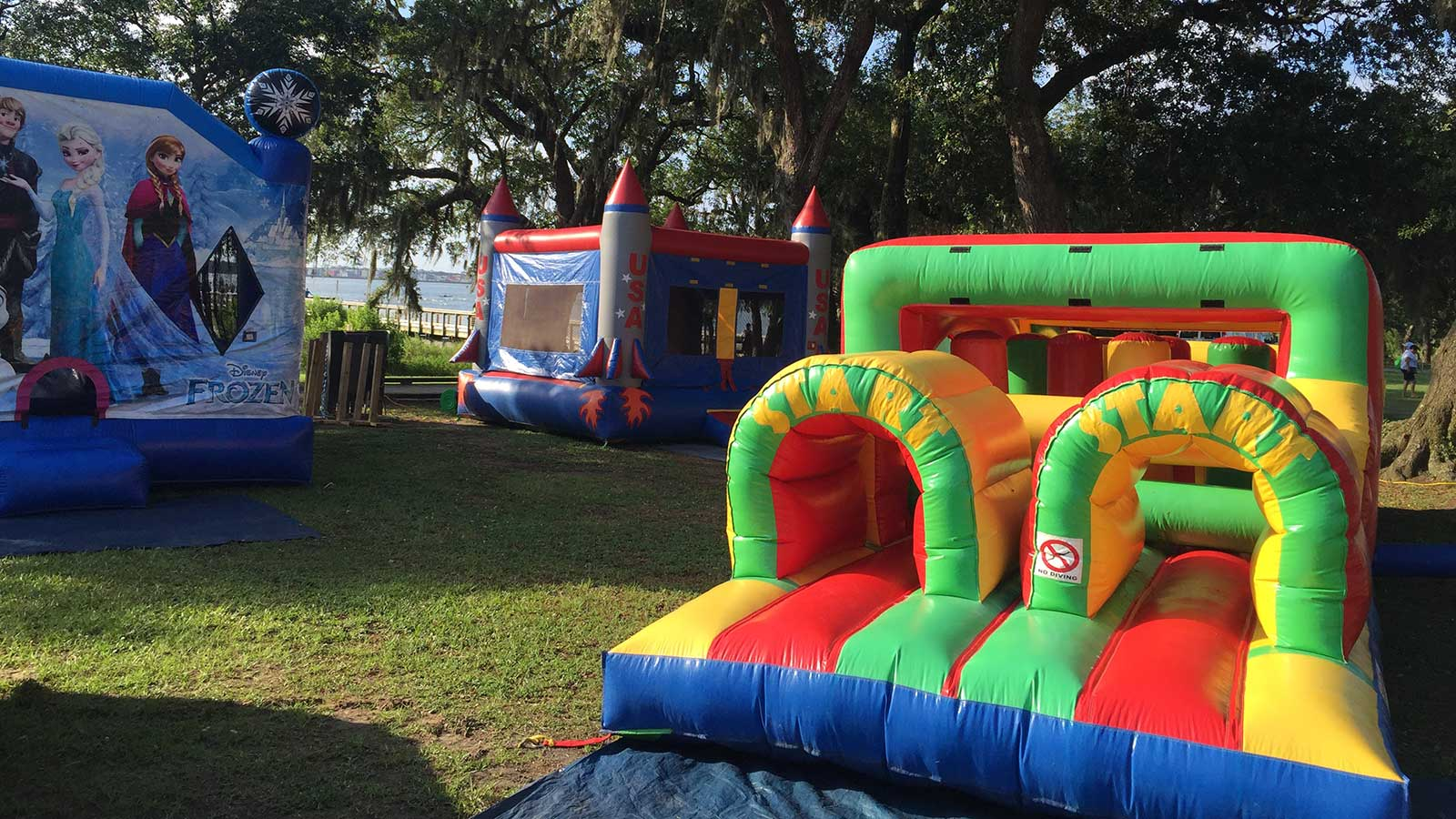 Charleston Jump Castles Voted 1 Inflatable Amusement Company In